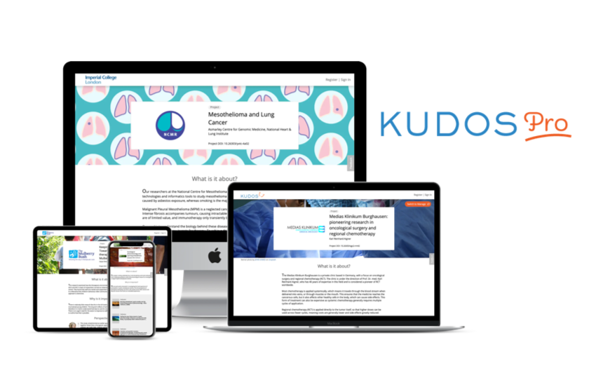 Kudos_Pro_research_website